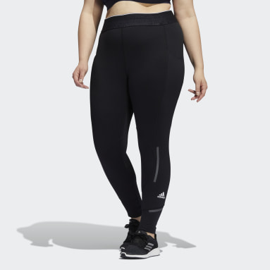 Women's Training Black Techfit COLD.RDY Long Tights (Plus Size)