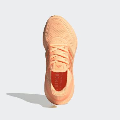 Women's Running Orange Ultraboost 21 Shoes