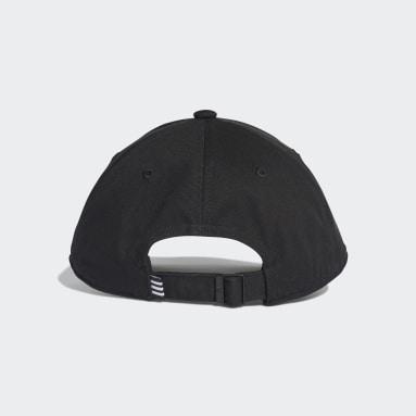 Originals Black Trefoil Baseball Cap