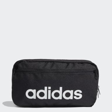 Sport Inspired Black Essentials Logo Shoulder Bag