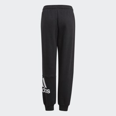 Jongens Sportswear Zwart Essentials French Terry Broek