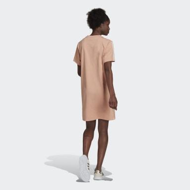 Vestido Essentials Loose 3 Tiras Rosado Mujer Diseño Deportivo