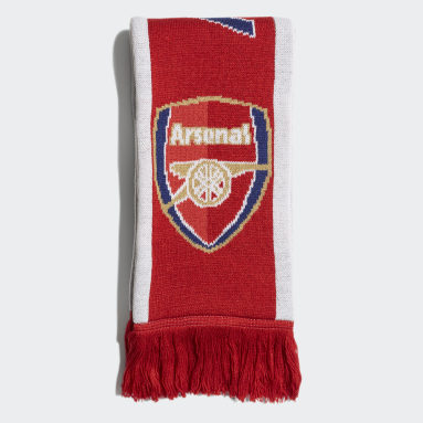 Soccer Red Arsenal Scarf