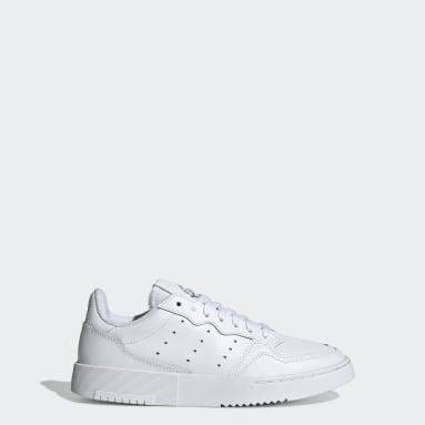 Kinder Originals Supercourt Schuh Weiß