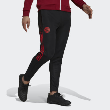Men Football Black FC Bayern Tiro Training Pants