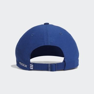 Cappellino Primeblue Sustainable Running Training Dad Blu Pallavolo
