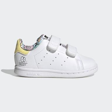 Kinder Originals adidas x Kevin Lyons Stan Smith Schuh Weiß