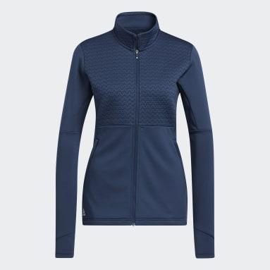 Women Golf Blue Primegreen COLD.RDY Full-Zip Jacket