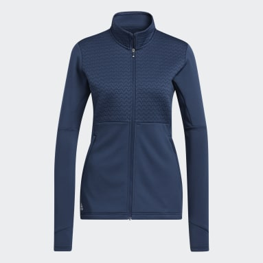 Veste Primegreen COLD.RDY Full Zip Bleu Femmes Golf