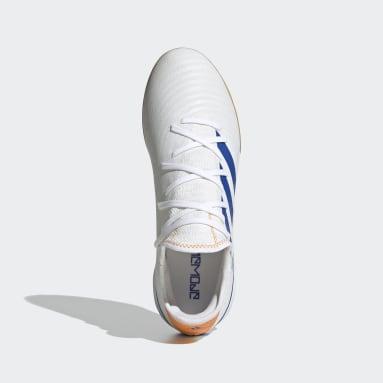 Zapatos de Fútbol Gamemode Tejidos Cancha Cubierta Blanco Fútbol