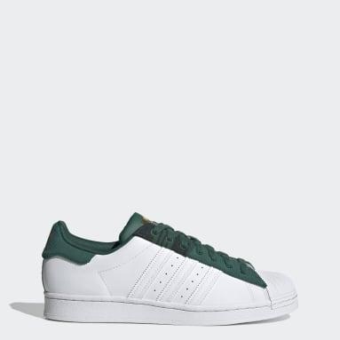 Originals Grøn Superstar sko