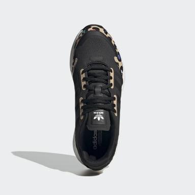 Women Originals Black ZX 1K Boost Shoes