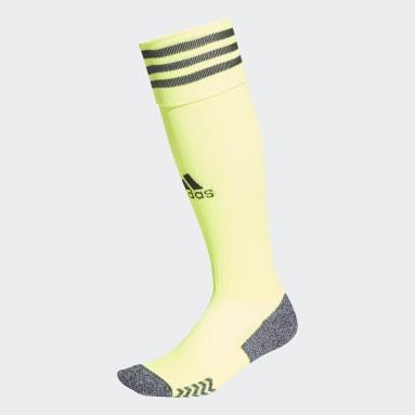 Football Yellow Adi 21 Socks