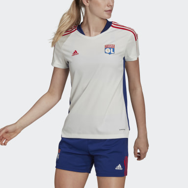 Maillot d'entraînement Olympique Lyonnais Tiro Blanc Femmes Football