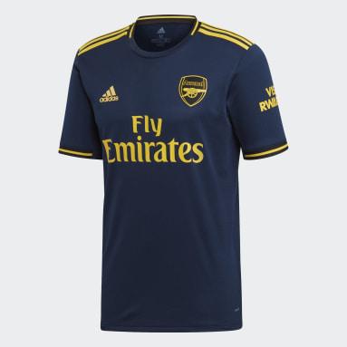 Men Football Blue Arsenal Third Jersey