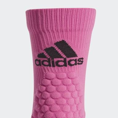 Training Pink Running Ultralight Crew Performance Socks