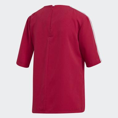 Camiseta 3 bandas Rosa Mujer Originals