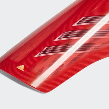 красный Футбольные щитки X League