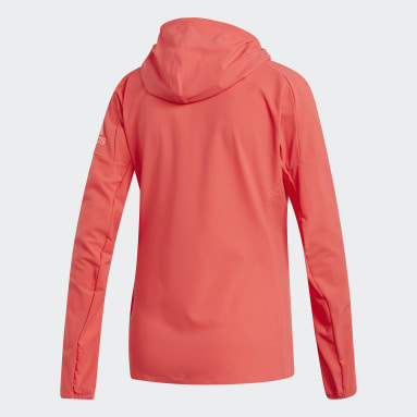 Chamarra adidas Z.N.E. Rojo Mujer Running