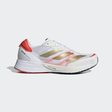 Women's Running White Adizero Adios 6 Tokyo Shoes