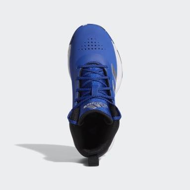 Children Basketball Blue Cross Em Up 5 Shoes Wide
