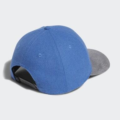 Gorra Club 3 bandas Azul Hombre Golf