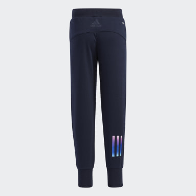 Girls Gym & Training Blue French Terry Joggers