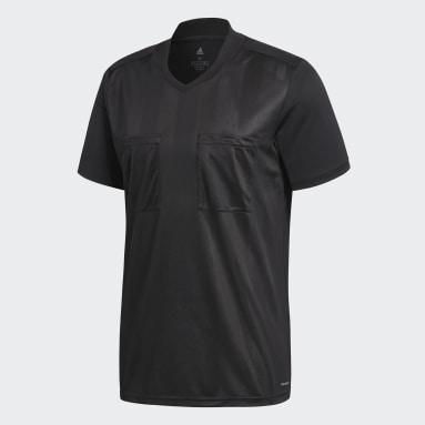Camiseta Referee Negro Hombre Fútbol