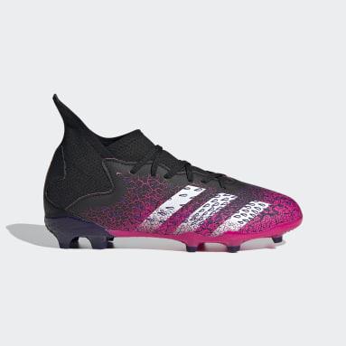 Børn Fodbold Sort Predator Freak.3 Firm Ground støvler