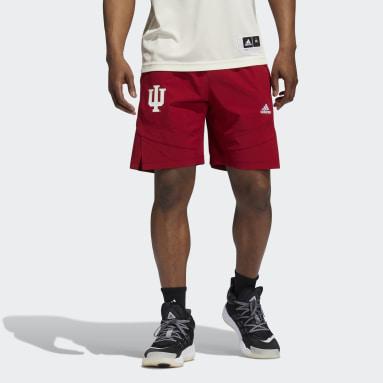 Men's Basketball Red Hoosiers NCAA Swingman Shorts
