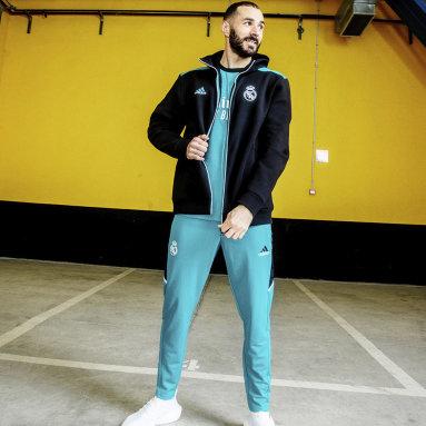 Men Football Green Real Madrid Condivo Training Pants