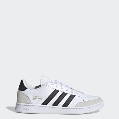 Sport Inspired White Grand Court SE Shoes