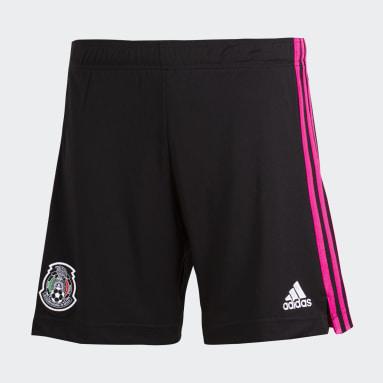 Shorts de Local México Negro Niño Fútbol