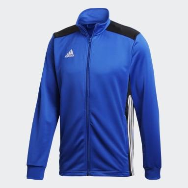 Men Gym & Training Blue Regista 18 Jacket