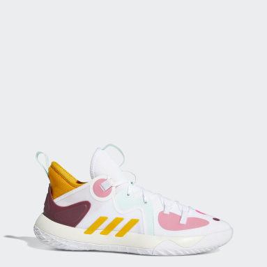 Basketball White Harden Stepback 2.0 Shoes