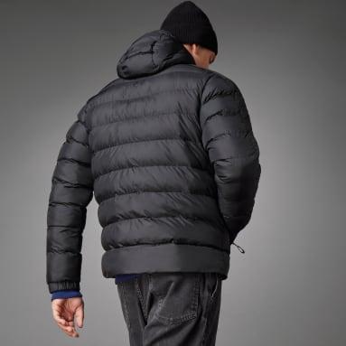 Muži Městský Outdoor černá Bunda Itavic 3-Stripes Midweight Hooded