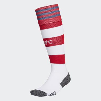 Football White Arsenal 21/22 Home Socks