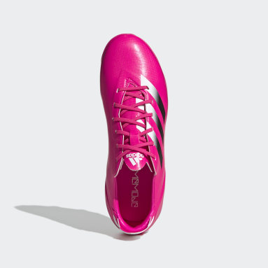 Kids Football Pink Gamemode Firm Ground Boots