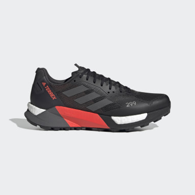 TERREX Zwart Terrex Agravic Ultra Trail Running Schoenen