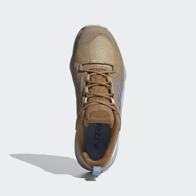 Zapatillas de Senderismo Terrex Swift R3 GORE-TEX Beige Mujer TERREX
