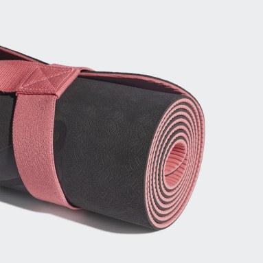 Ženy Fitko černá Podložka na jógu adidas by Stella McCartney