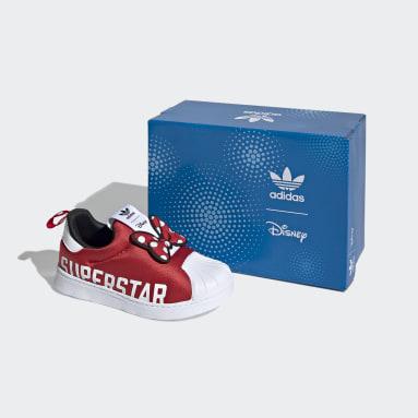 Kids Originals White Superstar 360 X Shoes