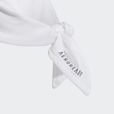 Tennis White Tennis AEROREADY Two-Color Tieband