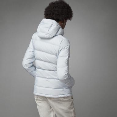 Women City Outdoor Blue Helionic Down Jacket