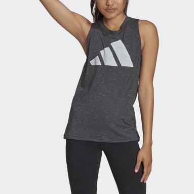 Women Sportswear Black adidas Sportswear Winners 2.0 Tank Top
