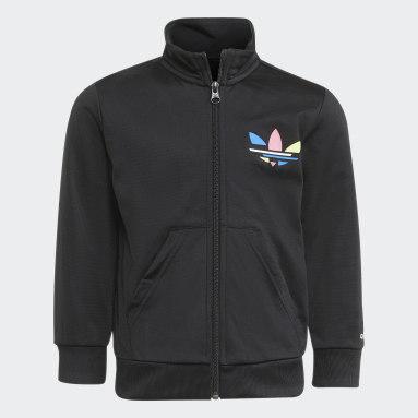 Conjunto de chaqueta y pantalón Adicolor Negro Niño Originals