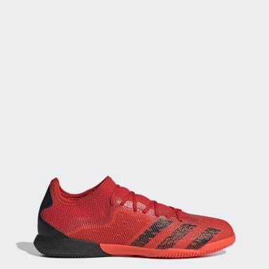 Zapatos de Fútbol Predator Freak.3 Cancha Cubierta Rojo Hombre Fútbol