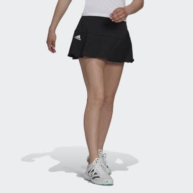 Gonnellino da tennis Match Nero Donna Tennis