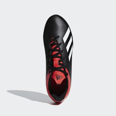 calzado de fútbol X 18.4 Multiterreno Negro Niño Fútbol