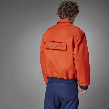 Bomber Blue Version Varsity Arancione Uomo Originals